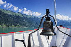 Brienz Cruise (ankur.mistry) Tags: city travel cruise sky lake clouds switzerland bell wanderlust