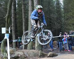 02 MTB SCDH 16 Apr 2016 (26) (Kate Mate 111) Tags: uk mountain bike forest cycling crash sheffield yorkshire steve competition racing downhill peat riding mtb mountainbiking grenoside