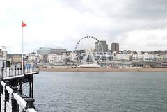 Brighton Pier, Brighton, United Kingdom (Tiphaine Rolland) Tags: uk greatbritain sea england mer water sussex pier seaside eau brighton unitedkingdom south gb angleterre channel manche sud jetée seasideresort brightonpier 2016 balnéaire royaumeuni grandebretagne borddemer citébalnéaire