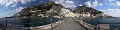 Amalfi - panorama (in Explore) (germano manganaro) Tags: italien italy panorama italia campania stitch explore italie amalfi salerno costieraamalfitana canoneos5d canonef1740l