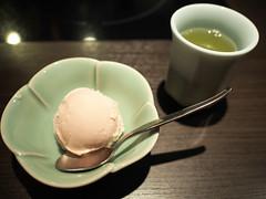 Ice Cream & Tea (INZM.) Tags: food ice japan dinner japanese tea style icecream  kaiseki       awabi