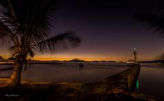 Alvorada em Paquet (mariohowat) Tags: brazil brasil riodejaneiro sunrise natureza paquet alvorada amanhecer noturnas longaexposio ilhadepaquet