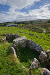 chambers of Knockoneill (backpackphotography) Tags: ireland megalithic court photography ancient rocks stones tomb londonderry backpack prehistoric hdr derry megalith northern ireland tomb court knockoneill knockoneill