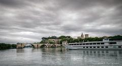 Avignon & le Rhne (Rmi Avignon) Tags: boats bateaux avignon rhone