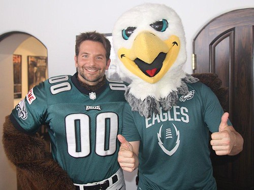 Bradley cooper And the philadelphia eagles