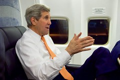 Secretary Kerry Speaks With Traveling Press Corps After Arriving at Andrews Air Force Base From Iran Talks in Austria (U.S. Department of State) Tags: vienna austria johnkerry andrewsairforcebase
