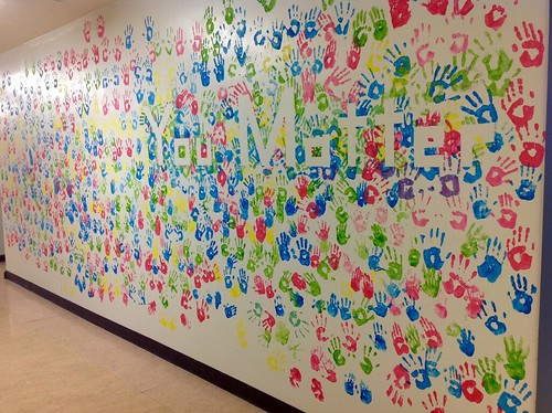 Finished You Matter Wall