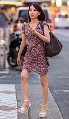 Step Up (Light J) Tags: street portrait woman color cute girl beauty japan canon tokyo pretty candid 135mm 6d shibuyaku tkyto