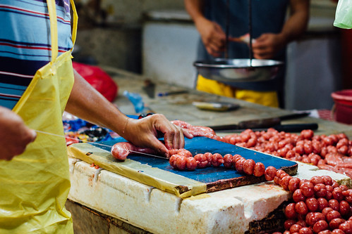 Tying Longganisang Hamonado, Cebu City Philippines