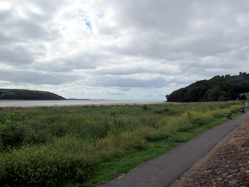 Towy Estuary at Llansteffan