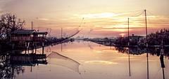 Marina Romea in HDR (Strocchi) Tags: marinaromea ravenna sunset tramonto italia canale water acqua factory fabbrica landscape paesaggio hdr canon eos7d tamron1750f28 portocorsini canaledeglistaggi