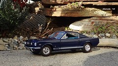 1965 Ford Mustang GT 2+2 Fastback Coupe (JCarnutz) Tags: ford 22 1965 mustanggt diecast 124scale m2machines