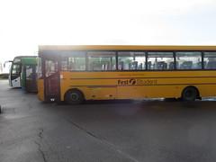 First Student Bus IMG_1406 (tomylees) Tags: bus january 4th monday freeport essex braintree 2016