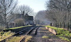 Swanbourne Station (R~P~M) Tags: uk greatbritain england abandoned train unitedkingdom buckinghamshire railway disused bucks horwood lnwr swanbourne varsityline