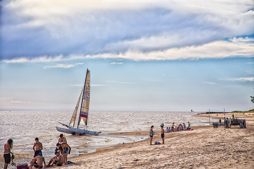 camping sunset summer people sun beach water sport clouds landscape uruguay sand yacht sanjose