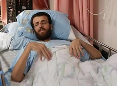 Ambulance to attempt to transfer hunger striker to hospital in Ramallah On Wednesday February 10th, 18:00 supporters will arrive at the hospital in Afula, accompanied by an ambulance and doctors, to transfer Mohammed Al-Qeeq for medical treatment in the R (Palreports) Tags: israel palestine occupation