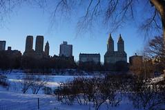 Central Park (Hlne Gondelle - Photography) Tags: park travel winter snow newyork fall tourism nature beautiful landscape colorful centralpark visit discover citybreak beautifuldestination