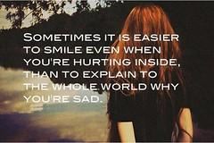 Smile Heartbroken Quotes (mayariyanti32) Tags: smile quotes heartbroken
