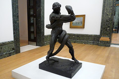 Leighton, An Athlete Wrestling with a Python, 1877