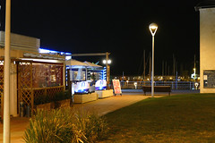Did you say pizza? (Fnikos) Tags: plant night port garden puerto pizza nightview