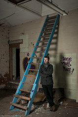 Ben (JRT ) Tags: wood shadow people snow man cold male abandoned stairs standing mouth pose dark stars graffiti model nikon shoes shoot factory moody shadows looking tripod freezing frosty dirty indoors doorway thighs staircase forgotten workshop inside filthy derelict leaning speedlight softbox damp trespassing urbex mouldy derelictbuildings strobes 2470f28 triggers splore d300s absoluteimages jrwphotography johnwarwood flickrjrt jrwphotographycouk