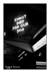 Christ Died For... (jbhthescots) Tags: glasgow leicam3 vuescan sekonicl308s ilfordfp4200 plustek7600i 1450mmsummiluxpreasphv2 hc110dilh1631230minutesag3