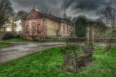 St.Peters church, Aston nr Runcorn (Keo6) Tags: church st seat graves peters aston