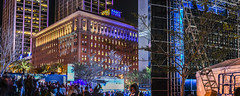 behind the fan interactive zone (pbo31) Tags: sanfrancisco california city winter panorama color sport night dark football concert nikon nfl crowd january large panoramic financialdistrict motionblur embarcadero fans superbowl backstage 50 stitched openingnight justinhermanplaza chrisisaak 2016 embarcaderocenter boury pbo31 d810 sb50 superbowlcity