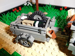 10cwt GS Trailer (FirstInfantry) Tags: lego brickarms