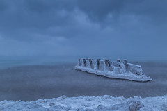 Left Side (hey its k) Tags: ca ontario canada ice sunrise icy lakeontario grimsby groynes hfg fiftypointconservationarea canon6d img7525e