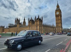 Taxi (Belinda Fewings (3 million views. Thank You)) Tags: life road street city bridge winter urban colour london clock tourism beautiful westminster beauty car out outside outdoors living moving seaside december arty artistic bokeh pavement taxi transport creative housesofparliament bigben taxis sidewalk vehicles colourful lovely quick westminsterbridge blackcab the beautify panasoniclumixdmc pbwa creativeartphotograhy belindafewings