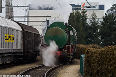 chuchu (monsieur menschenleer) Tags: industrial railway bahnhof steam locomotive siding bp niederösterreich mondi amstetten shunting hausmening neusiedler ulmerfeld fireless werksbahn verschub cargoserv dampfspeicherlokomotive menschenleerat