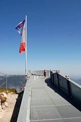 Garmisch - Alpspitze (07) - AlpspiX-Aussichtsplattform (Pixelteufel) Tags: bayern bavaria urlaub alpen ferien freizeit tourismus garmischpartenkirchen gebirge erholung bergwelt stahlkonstruktion aussichtsplattform