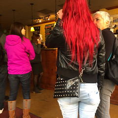 Technicolor Philz (Giraffarin) Tags: red people black color coffee photography magenta technicolor bedazzled precoffee philz