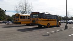 Columbia District Schools (abear320) Tags: blue school bus bird florida thomas district columbia vision schools c2 saftlier