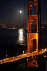 GG nite (Norscout) Tags: ocean sf sanfrancisco sunset pacific marin pacificocean goldengatebridge goldengate headlands sanfran goldengatebridgesfatnight
