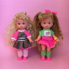 Wee Li'l Miss Doll Collection (The Barbie Room) Tags: beauty doll heart little makeup skate lil roller wee bedtime skater miss mattel 1990s 90s rollerskate