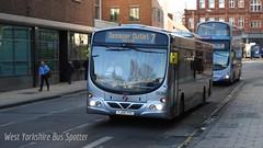 First York YJ08 XYC 69364 (WY Bus Spotter) Tags: york urban bus eclipse volvo transport first wright wrightbus b7rle 69364 yj08xyc
