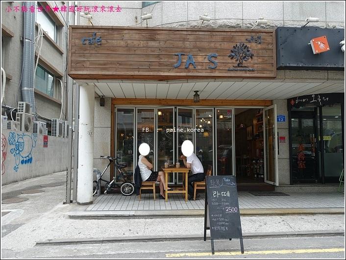 弘大 Jass Cafe 紅薯 約會咖啡 (1).JPG