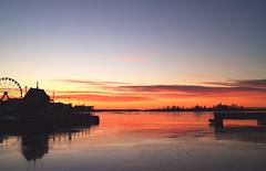 On thin ice (samikahkonen) Tags: life morning sea water sunrise finland outdoors island helsinki baltic explore scandinavia archipelago kauppatori