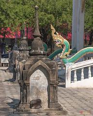 Wat Ban Na Phra Ubosot Boundary Stone Shrines (DTHST0183) วัดบ้านนา ที่บูชาเสมา พระอุโบสถ