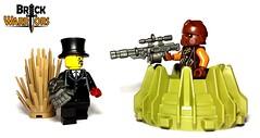 Taking the Shot (BrickWarriors - Ryan) Tags: auto corporate post lego rifle armor sniper scifi guns shotgun custom weapons helmets minifigure apoc raider brickwarriors