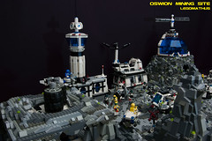 07_OSWION_Mining_Site (LegoMathijs) Tags: expedition layout wire mod energy power lego crystal space el vehicles astronauts modular planet scifi 20 functions mindstorms drill containers grapple spaceships miners moc nxt ores legomathijs oswion
