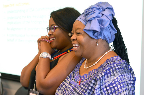 Lebogang and  Prof Sheila
