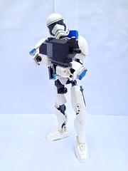 Stormtrooper Commando (Buildable Figure) (FxanderW) Tags: starwars lego stormtrooper custom commando moc buildablefigure theforceawakens