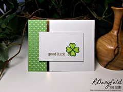 Good Luck (rbergfeldcarddesigns) Tags: handmade goodluck luckycharm cardmaking cardmaker copicmarkers lawnfawn copiccoloring