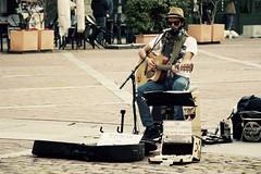 Bergamo Alta - 117 (Gaetano Prisco) Tags: street italy strada italia guitar voice vocalist alta bergamo guitarist harmonica kazoo chitarra citt cantante voce chitarrista