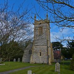Offenham, Worcestershire, St Mary and St Milburgh (Tudor Barlow) Tags: england churches worcestershire 1860 listedbuilding preedy parishchurch offenham frederickpreedy gradeiilistedbuilding