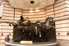 London (jaffa600) Tags: city england london cityscape capital sightseeing picadilly picadillycircus citycentre horsestatue horsesculpture fourhorses fourhorsesofhelios bronzehorsesofhelios