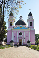 Chernivtsi (Schatz_the_Rabbit) Tags: pink travelling church architecture university cathedral ukraine holy orthodox  ruh kutsal  katedral  pembe  chernivtsi   hristiyan ukrayna     hristiyanlk  chernivzi tschernivzi tschernowits